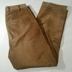 Brooks Brothers Elliot men's brown corduroy pants